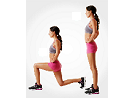 cardio workout lunges