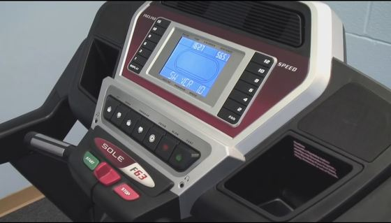sole f63 treadmill console picture 2